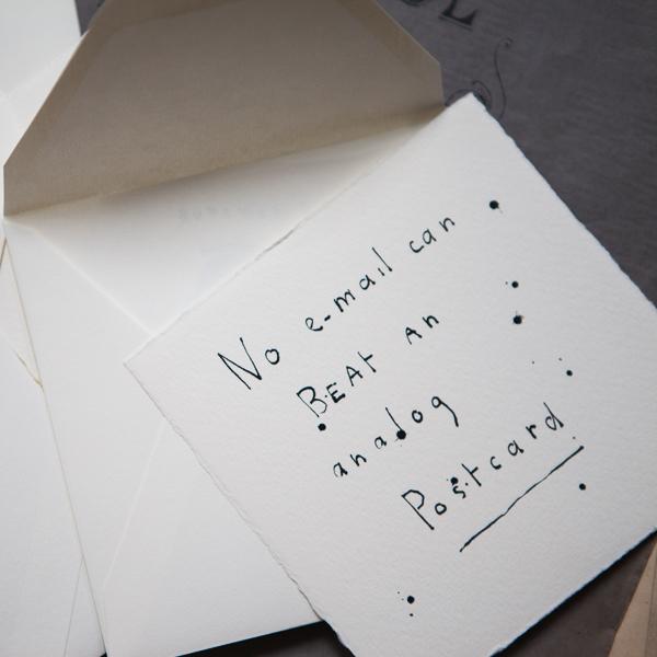 analoga brev