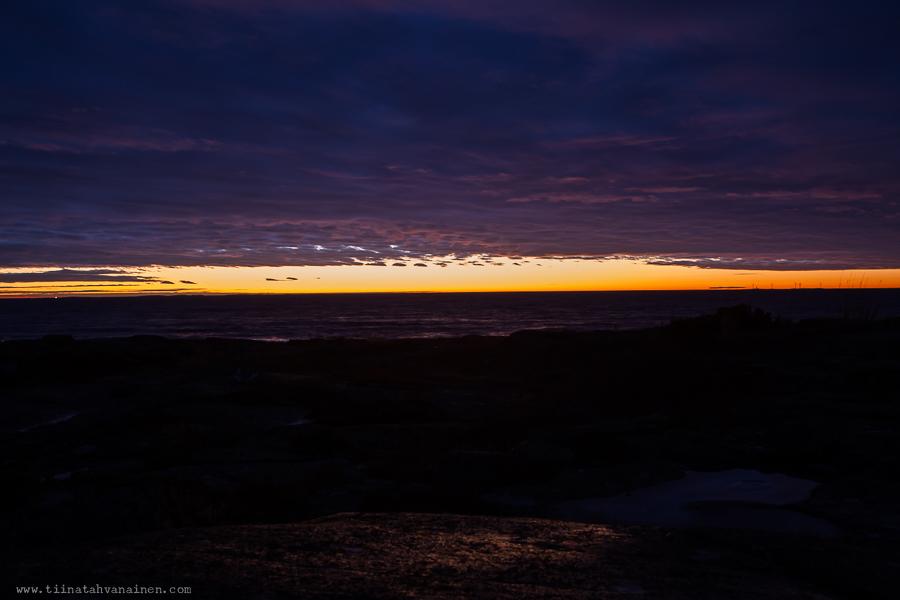 arets sista solnedgang