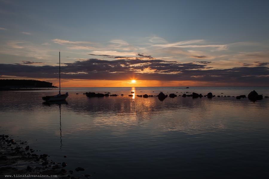 lickershamn solnedgång